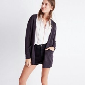 Madewell Summer Ryder Open Front Cardigan